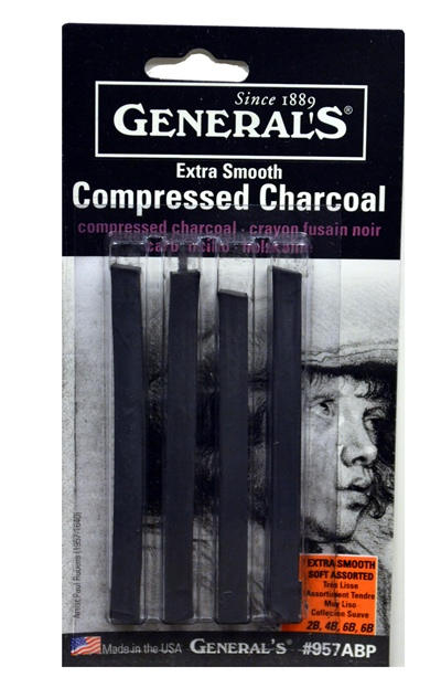 General's Compressed Charcoal (SKU 1002585729)