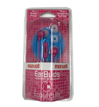 MAXELL EARBUDS W/ MIC AND REMOTE