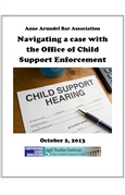 Navigating A Case With The Office Of Child Support Enforcement