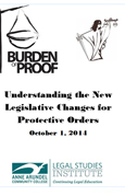 Understanding The New Legislative Changes For Protective Orders