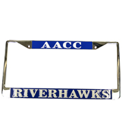 Riverhawks License Plate Frame