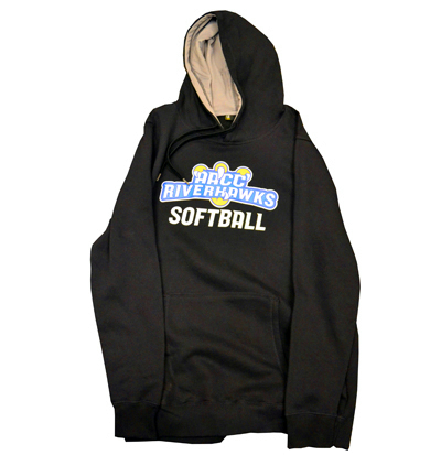 Official Athletic Riverhawks Softball Hoodie