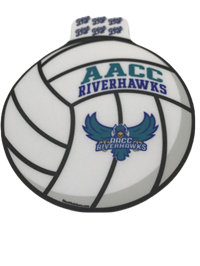 HAWKS VOLLEYBALL STICKER