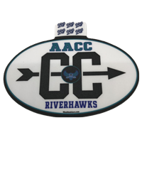 HAWKS CROSS COUNTRY STICKER